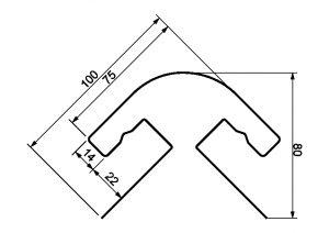 Я-фасад(крымский сланец)радиусная планка_размеры