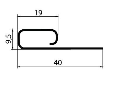 Я-фасад(финишная планка)размеры