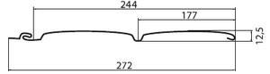 GL(блокхаус)размеры