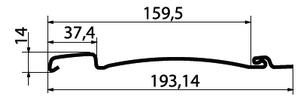 GL(вертикальный)размеры