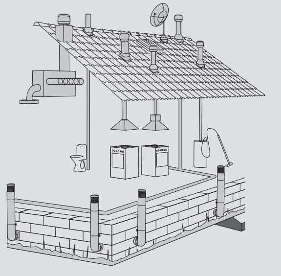 Вентиляционный выход на крышу цена