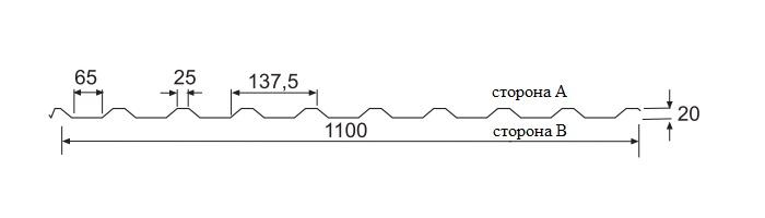 Weckman W20R(профлист)размеры2
