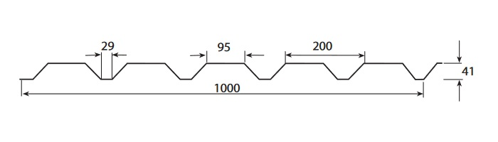 Weckman W45EA(профлист)размеры2
