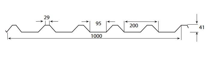 Weckman W45ER(профлист)размеры2
