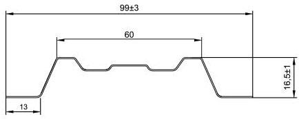 Штакетник(Lane-T)размеры